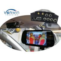 Vehicle Security cameras system NVR 4 Channel Mobile DVR 3G GPS WIFI MDVR HDD Storage Manufactures
