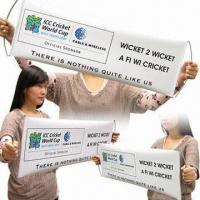 Large Fan Banner for All Kinds of Events Manufactures