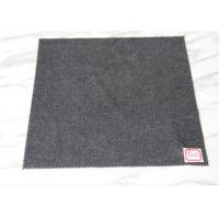 Heavy Weight Grey Wool Fabric In Stock , Autumn Jackets Wool Boucle Fabric 720 Gram Manufactures