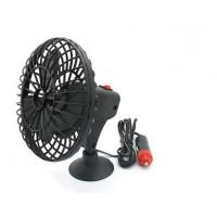 Portable 4 Inch Plactic DC 12V Mini Black Adsorption  Fan Car Cooling Fans Style For Cars Manufactures
