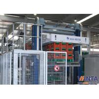 SEW Balance Weight Cylinder Automatic Palletizing Machine With Belts Motor Manufactures