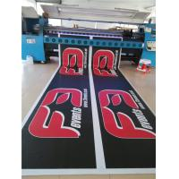 Double Sided Vinyl Mesh Banner Outside With Copper Grommets Uv Resistant Manufactures