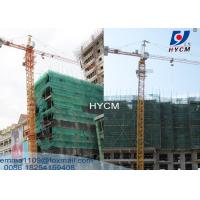 TC6520 Construction Fixed Tower Crane With 3m Split Mast Section 10t Manufactures