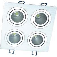 High quality 20w led down lihgt 5W*4 Dimmable quadruple recessend down light JL-C019 Manufactures