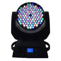 Dmx 108 X 3W LED Moving Head Light  / Stage Wash Lighting High Power Manufactures