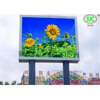 Video LED Billboards Full Color LED Display Screen 10mm Pixels Ip65 3 years warranty Manufactures