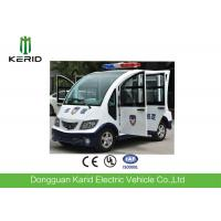 AC Motor Drive Mini Electric Utility Cart / Sightseeing Bus For Park Patrol Manufactures