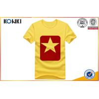Various Colors Customize Your Own Shirt , Simple Design O - Neck T Shirts Manufactures