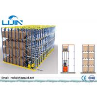 China Forklift Warehouse Pallet Racking Systems ,  1000-2500kg / Arm Drive Through Racks on sale