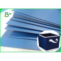 Lacquered Finish Glossy Blue Cardboard For Gift Box File Folders 720 x 1020mm Manufactures