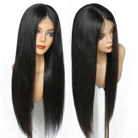 China 150% Density Brazilian Full Lace Human Hair Wigs With Baby Hair For Black Women on sale