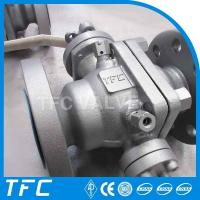 A216 WCB trunnion mounted ball valve Manufactures