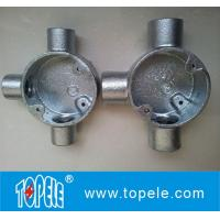 Electrical Pipe BS4568  Iron Circular Junction Box Manufactures