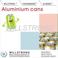 Quality Acid Or Alkali Proof Color Coated Aluminum Coil For Beer Cans / Aluminium Colour Coated Sheet for sale