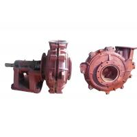 WL Light Duty Small Sand Pump Sand Dredge Pump With Solid Particles 25-13860m3/H Manufactures