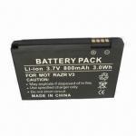 Mobile Phone Battery with 800mAh Capacity, Suitable for Motorola RAZR V3, RAZR V3i, RAZR Manufactures
