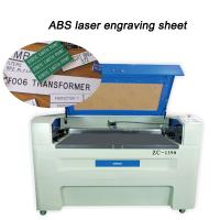 """ABS Laser Engravable Plastic 24""""X 48"""" Brushed / Gloss Metal Finishing Manufactures"""