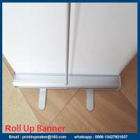 Small Size Aluminum Pull Up Stand Retractable Printed Banner Manufactures