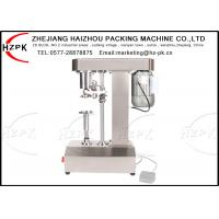 TCS-160 Stainless Steel Semi Auto Capping Machine Tinplate Can Seamer Manufactures