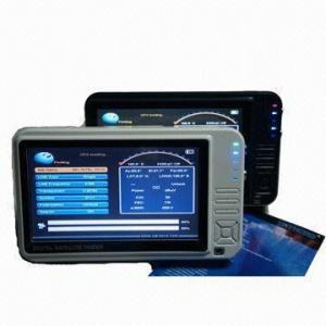 7-inch LCD Screen Digital Satellite Finder Meter, SH 500 Manufactures
