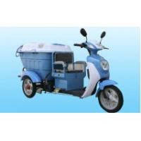 China 650w 500l Cargo Electric Tricycle Sanitation Truck , Wall Thickness 5-7mm wholesale