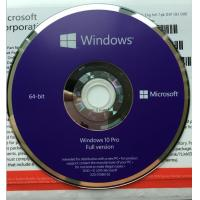 Sealed Microsoft Windows 10 Pro Professional OEM COA 64 Bit DVD Pack Manufactures