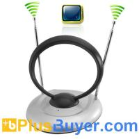 Indoor TV Antenna for Digital TV, Analog TV, FM Radio Manufactures