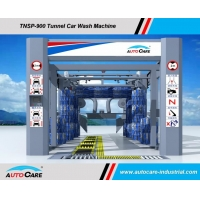 China Automatic Tunnel Car Wash System Hot sales to Malaysia/Tunnel car washing Machine with Platform Belts Conveyor on sale