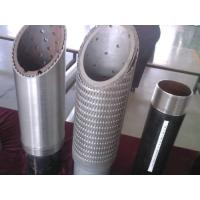 Wedge wire oil well screens / Sand control well screen / stainless steel filter screen / well screen pipe Manufactures