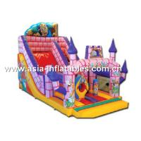 Inflatable Combo, Slide And Bouncer Union For Children Sport Games Manufactures