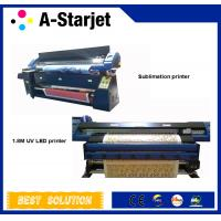 AC100-220v 1.8m Automatic UV Inkjet Printer For Printing PU And Leather Manufactures