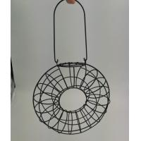 Hanging Metal Fat Ball Ring Feeder For Wild Bird Manufactures