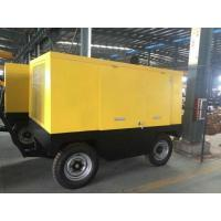 EYC-250A Mobile Diesel Engine Screw Air Compressor 250KW 340HP Low Noise Silent Type Compressors Manufactures