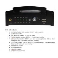 China Public Bus 3G 4G 8 Channel Mobile DVR recorder Tracking on Smartphone and PC on sale