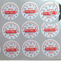 Special Broken Ultra Tamper Proof Stickers , Irremovable Security Seal Stickers Manufactures