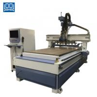 China High speed Linear ATC CNC Router with gear rack transmission for kitchen doors on sale