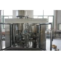 Auto High Speed Edible Oil Filling Machine with Stainless Steel SS304 4 - 32 Head Filling Manufactures