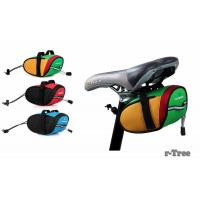 China Outdoor Cycling Mountain Bike Bicycle Saddle Bag Back Seat Tail Pouch Package Black/Green on sale