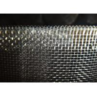 China Galvanized Low Carbon Iron Square Woven Wire Mesh 12 Mesh 22 Mesh With Close Edge on sale