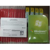 China Genuine best version Windows 7 Home Premium DVD 32 BIT 64 BIT Sp1, Win7 Home OEM package Product Key Code wholesale now on sale