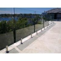 Glass pool fence spigot balcony glass fence Manufactures
