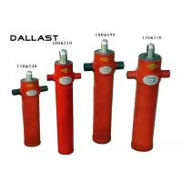 Single Acting Telescopic Cylinder Chrome 2 Stage Bore 110mm TS16949 Certification Manufactures