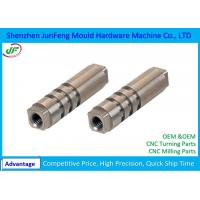 JF144 Custom CNC Metal Parts Anodized Aluminum Material +/-0.005mm Tolerance Manufactures