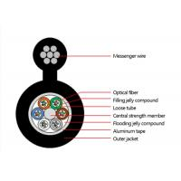 China Outdoor Figure 8 Armoured self-supporting Optical Fiber Cable Multitube optical fiber cable--GYTC8A on sale