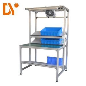 Cold Welded Oxidizing sand blasting Aluminium Profile Workstation , Aluminium Work Bench Anti - Rust Manufactures