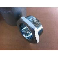 China 3000LB 6000LB Stainless Steel Threaded Pipe Fittings , Duplex 2205 Butt Weld Pipe Fittings Bushing Plug on sale
