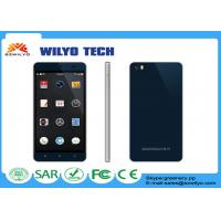 Black 5.5 Inch Android Phone OEM Mt6580 quad core cell phones WT8 1280x720p Manufactures