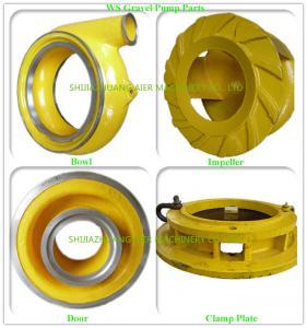 Cast Process Suction Dredge Pump Dredge Pump Parts OEM / ODM Available Manufactures