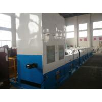 Heavy Duty Straight Line Wire Drawing Machine With Electeical Control System 2000KG Manufactures