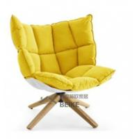 China Hot Selling New Danish Style Replica Modern Husk Chair with Wooden Legs on sale